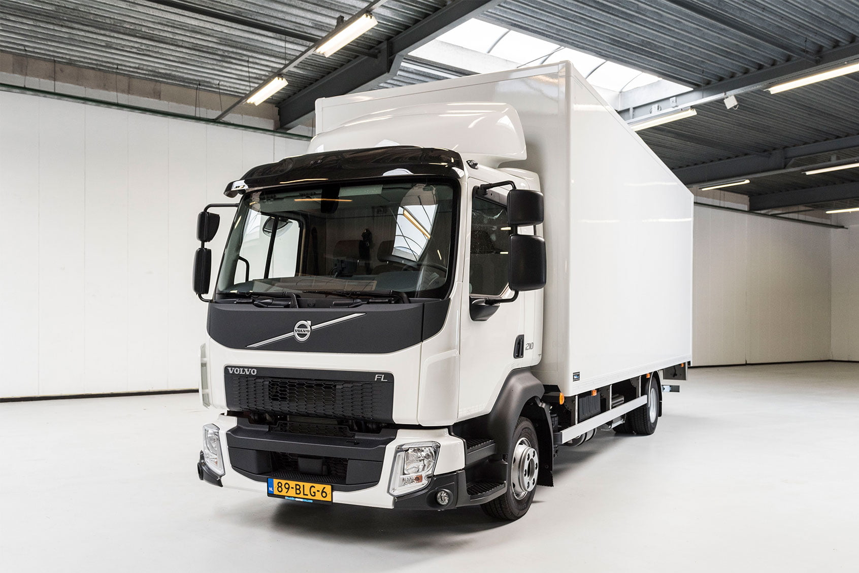 Trucks bij Mobility Centre Holland