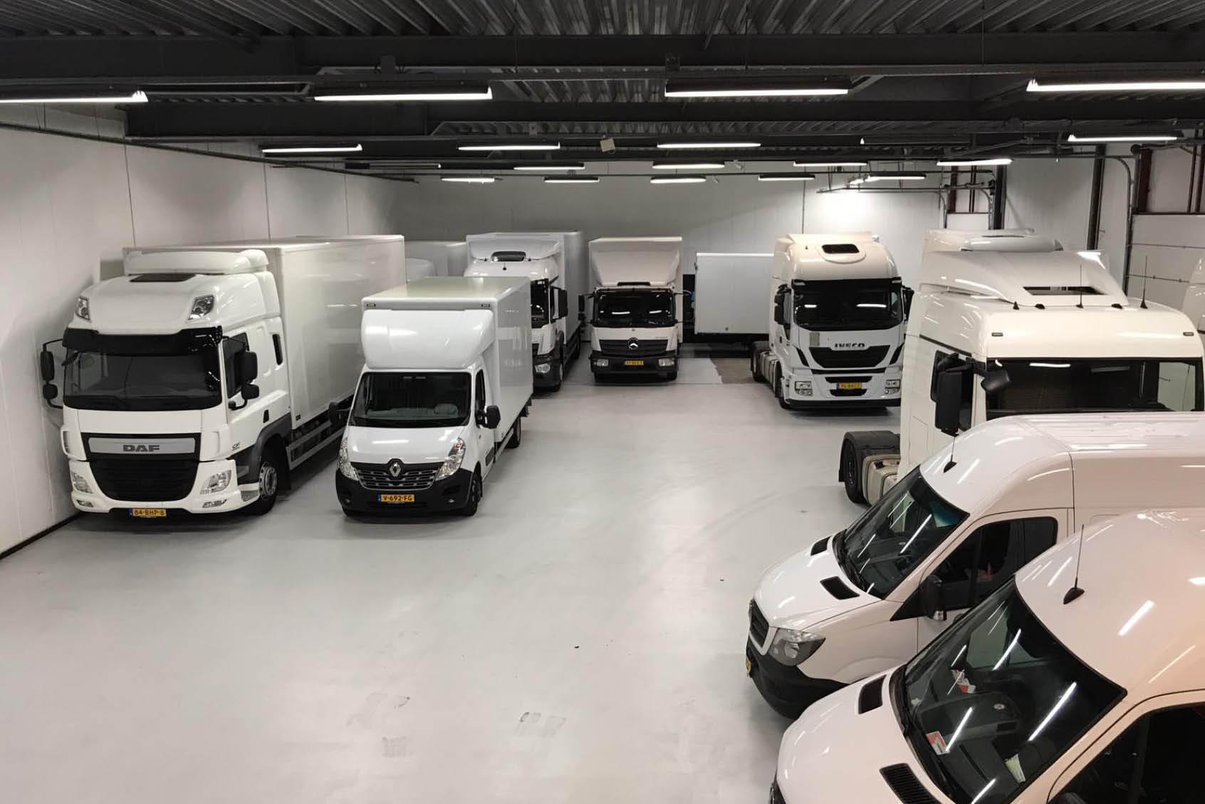 Koop, lease of huur trucks, bestelwagens en koelwagens bij Mobility Centre Holland
